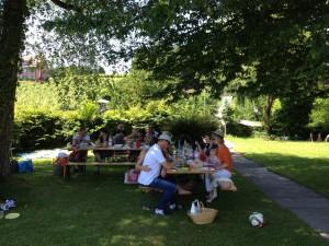 Déjeuner au bord du lac - Alliance Française de Lucerne