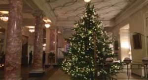 Café-rencontre de l'Alliance Française de Lucerne à l'Hôtel Schweizerhof Noël 2014
