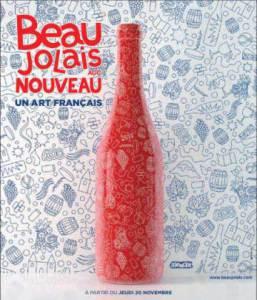 Soirée Beaujolas nouveau avec l'Alliance Française de Lucerne 2014