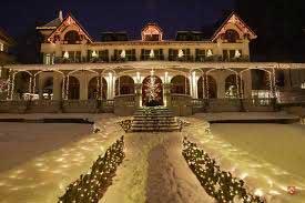 Admirer les illuminations de Noël à l'Hôtel Seeburg avec l'Alliance Française de Lucerne