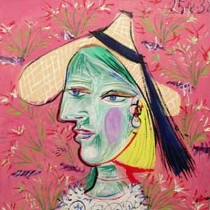 Toile de Picasso au Musée Rosengart avec l'Alliance Françiase de Lucerne