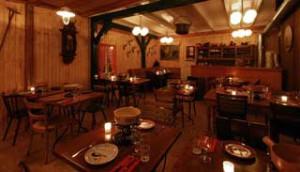 Soirée fondue de l'Alliance Française de Lucerne au Restaurant Mossmatt