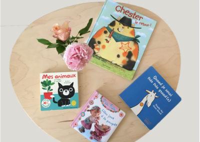 Livres enfants bibliothèque